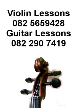 Violin Lessons - 082 565 9428