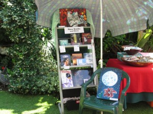 Our display at the previous promo, at the Fairy Folk Market