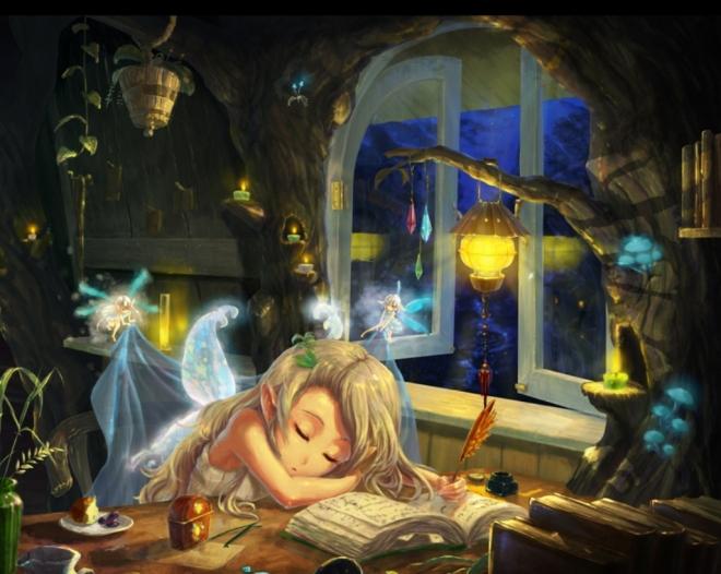 sleeping-fairy